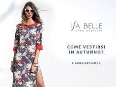 L'autunno è una seconda primavera, quando ogni foglia è un fiore. (Albert Camus) Per questo durante questo periodo vi consigliamo di indossare dei motivi floreali nei vostri outfit.