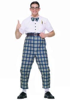 50s Class Nerd Costume- $38.99- maybe something like this for Harvey Johnson?