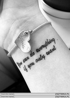 every moment is good to change everything tatuaż - Szukaj w Google