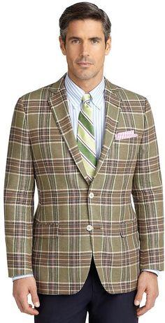 Fitzgerald Fit Plaid Deco Sport Coat