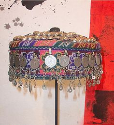 Ceremonial hat from Afghanistan |  Date unknown.