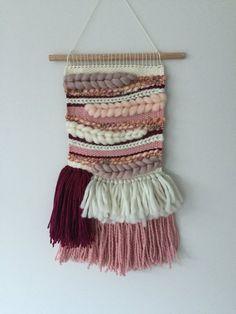 Wild Berry / Woven Wall Hanging / Weaving / Tapestry / Wall Art / Fibre Art / Handwoven