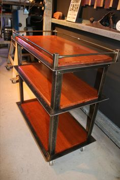 Drinks Trolley - made by Forme Industrious #formindustrios