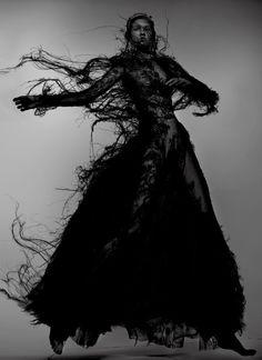 Molly Bair by Nick Knight for V Magazine Fall 2015 8