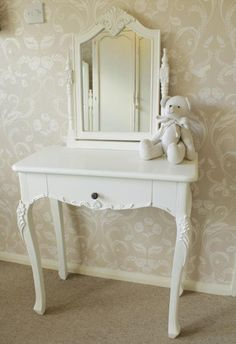 Chateau white dressing table