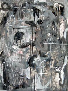 'Abismo de silencio' 2012, Jerónimo Muñoz, es troba a la 'Galería Meca Mediterráneo', ARTISTA contemporani que crida en silenci de manera exquisita,  poesia visual, personalment m'apassionen els seus gravats http://www.jeronimomunoz.es/, entreu, entreu, que mossega