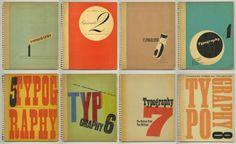 1936-39-Robert-Harling-TYPOGRAPHY-1-8-Shenval-Press-COMPLETE-SET-Jan-Tschichold
