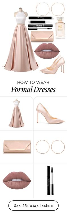 """""""Untitled #232"""" by kaytlyn002-1 on Polyvore featuring Jimmy Choo, Anita Ko, Tory Burch, Lime Crime and Dorothy Perkins"""