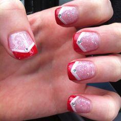 My Santa nails! :)