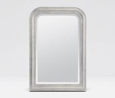 Mirrors | Made Goods phillipe silver leaf 26x38