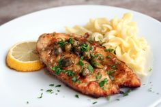 For dinner the other night: chicken piccata. So good!