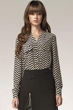 Bluzka+b31+-+paski+w+NIFE+Fashion+na+DaWanda.com