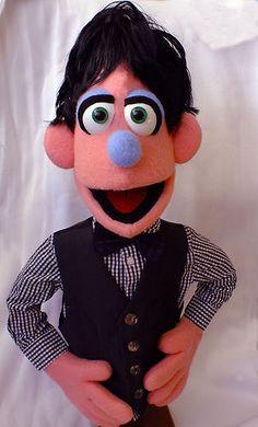Professional Muppet Style Sesame Puppet   eBay