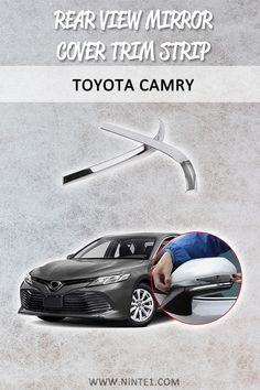 Must have car customization and decoration accessories. Step up your car& look with this car essential. Available for different makes and models. Must Have Car Accessories, Car Essentials, Toyota Camry, Rear View Mirror, Classic White, Custom Cars, Decorative Accessories, Abs, Models