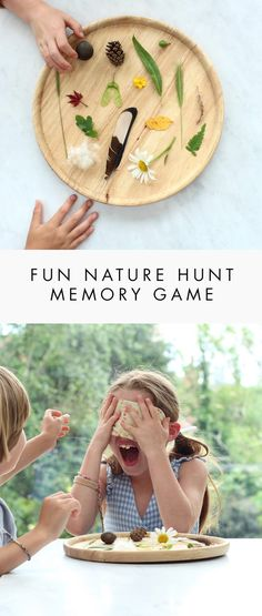 A fun and easy game that children will love! They will get as excited by the actual game as by preparing it - gathering nature finds is so much fun. (and it's great to improve memory and concentration)