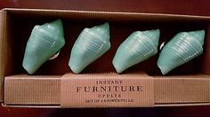 Coastal Seashell Drawer Cabinet Knobs Pulls Set of 4