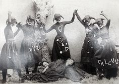 graves and ghouls: Photo c. 1890s