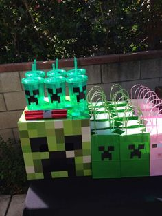 Minecraft Birthday Party Ideas | Photo 16 of 34