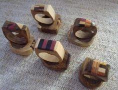 anillos de madera - Buscar con Google