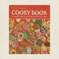 Betty Crocker's Cooky Book - Cookbook Village vintage and used cookbooks store online. Best Cookie Recipes, Popular Recipes, Best Cooking Oil, Online Cookbook, Cookie Company, Filled Cookies, Fun Illustration, Vintage Cookbooks, Betty Crocker
