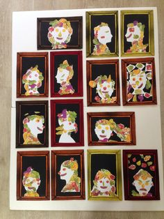 "Arcinboldo for kids ""Fruits Face"" Primary School Art, Art School, Giuseppe Arcimboldo, Montessori Art, Fruits For Kids, Atelier D Art, Jr Art, Learning Italian, Art Programs"