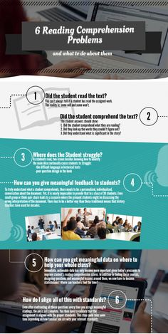 6 reading comprehension problems and what to do about them!