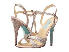 Blue by Betsey Johnson Teena Champagne Glitter - Zappos.com Free Shipping BOTH Ways
