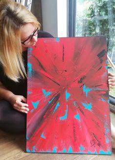 Original Artwork, Abstract Art, Tie Dye, The Originals, Painting, Women, Painting Art, Paintings, Tye Dye