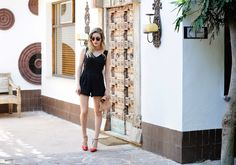Blog Personal Style | Blog de moda | Street Style: Playsuit Black