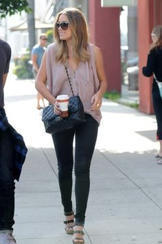 Lauren Conrad Films Her TV Show