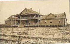 Cleveland Hotel - early 1900s - Grand Bay, Alabama