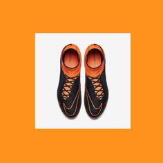 New Nike Hypervenom Nike Tech Craft Pack  COLOUR: Orange & Black