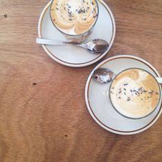 Bravery's lavender latte