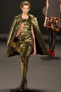 Anna Sui Fall 2013 Collection