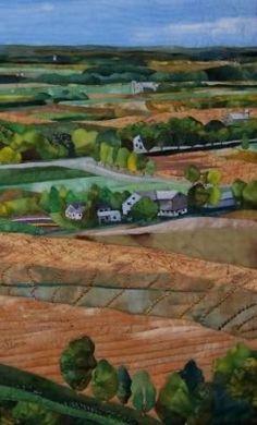 Renske Helmuth: Quilt Artist & Teacher: Landscapes