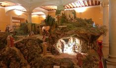 1 million+ Stunning Free Images to Use Anywhere Christmas Village Sets, Christmas Nativity Scene, Christmas Villages, Christmas Crib Ideas, Christmas Time, Christmas Decorations, Christmas Ornaments, Church Altar Decorations, Palm Trees Landscaping