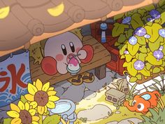 Animes Wallpapers, Cute Wallpapers, Aesthetic Art, Aesthetic Anime, Kirby Nintendo, Kirby Character, Mundo Dos Games, Pokemon, You Draw