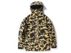 Bape Woodland Camo Gore-Tex Snowboard Jacket