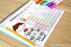 Why can't practicing multiplication facts be fun? Turn math into a game and let your students practice with this exclusive bundle freebie, the Multiplication Spin and Graph NO PREP Packet. Math Multiplication Games, Math Fractions, Fun Math, Homeschool Math, Homeschooling, Math Lessons, Math Tips, Math Graphic Organizers, Teaching Math