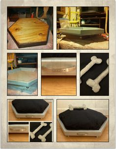 DIY dog bed  The Loki bed
