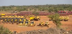 Machineries and tractors bought at a cost of 80 million dollars including spare parts from Caterpillar African Union, Spare Parts, Caterpillar, Tractors, Vineyard, Dolores Park, River, Outdoor, Outdoors