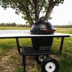 Grill Barrow Portable Kamado Grill Stand For Large 18-Inch Ceramic Grills