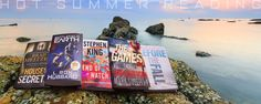 Hot summer reads!  Is your summer BOOKED?