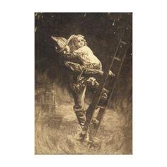 The Rescue 1888 Canvas Prints