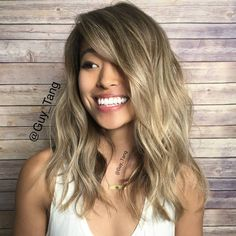 """""""Forgot to post a pic of my client @rrayyme from last week on #Periscope. We Toned damp with Guy Tang+ pravana chromasilk express tones Pearl and Beige…"""""""