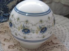 Pretty Blue and white Abigail Adams Lamp by Daysgonebytreasures