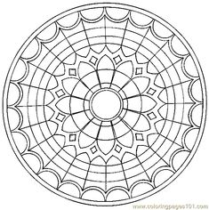 m and m coloring pages | Coloring Pages Mandala Coloring Page 09 (Cartoons > Miscellaneous ...