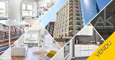 VENDU - Quai de Rome : Appartement de standing à Liège.
