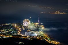Messina nord by night Sicilia