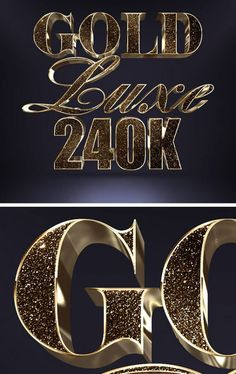 Free Glitter Gold Text Effect - PsFiles Graphic Design Tips, Text Design, Logo Design, Hand Lettering Fonts, Lettering Design, Typography, Photoshop Design, Photoshop Tutorial, Adobe Photoshop